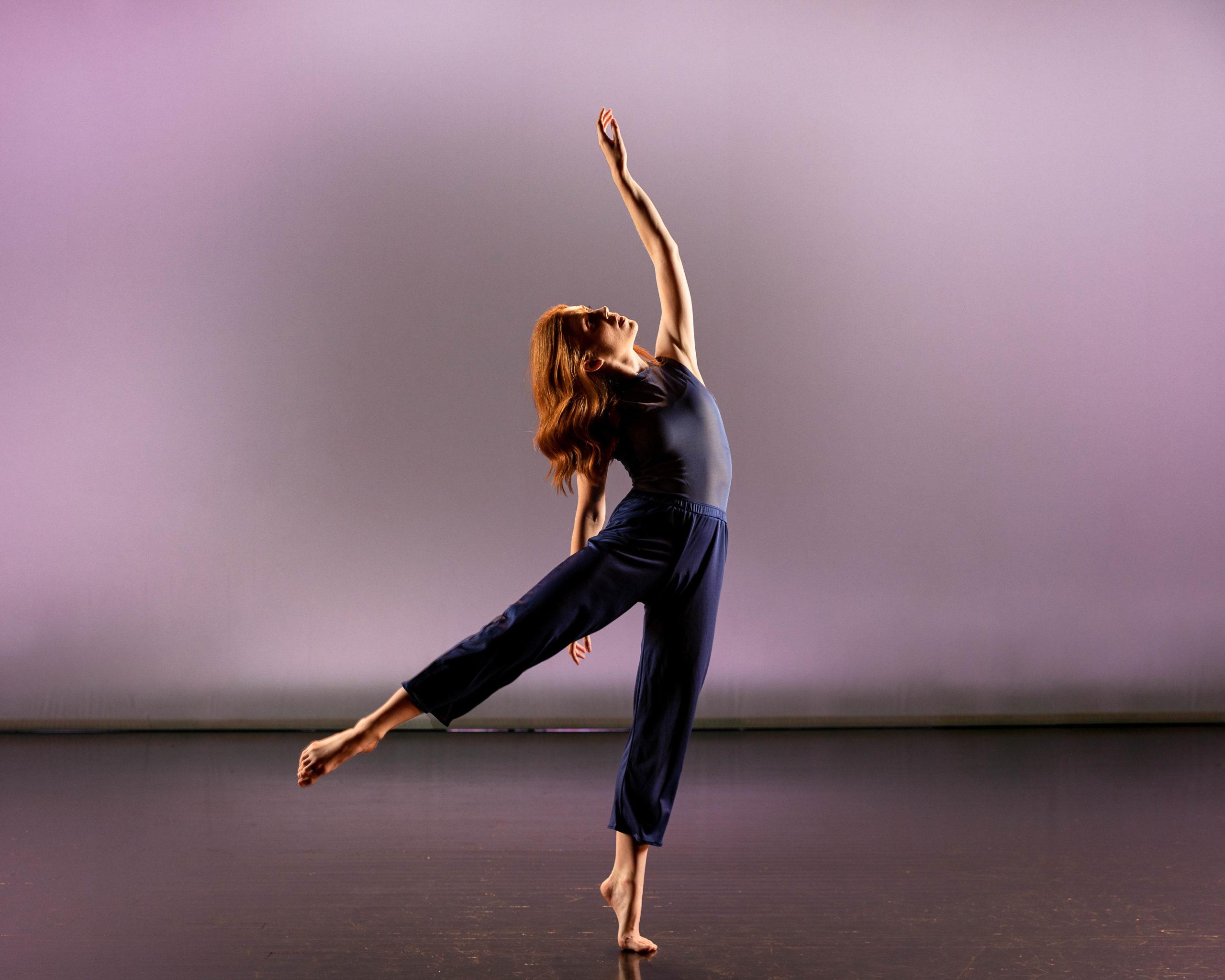 Megan O'Brien dancing
