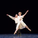 Male dancer lift female dancer